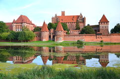 Malbork castle, Poland Royalty Free Stock Images