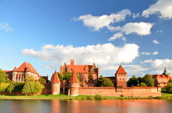 Malbork castle, Poland Stock Photos
