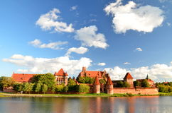 Malbork castle, Poland Stock Image