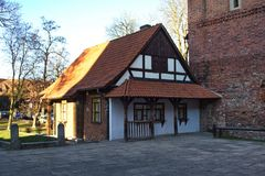 Malbork castle in Poland stock image