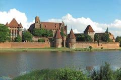 Malbork Castle, Poland Stock Photography