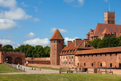 Malbork Castle Stock Photo