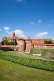 Malbork Castle in Poland. Medieval fortress built by the Teutonic Knights Order Royalty Free Stock Image