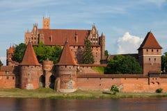 Malbork Castle in Poland Royalty Free Stock Image