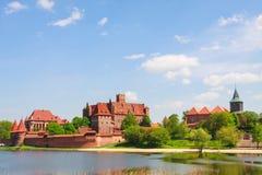 Malbork castle, Poland Royalty Free Stock Photos