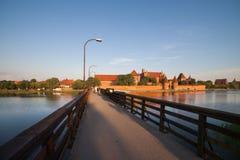 The Malbork Castle in Poland Royalty Free Stock Photo