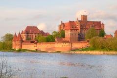 Malbork Castle, Poland Royalty Free Stock Image