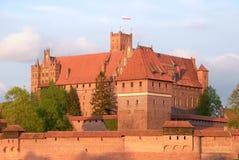 Malbork Castle, Poland Stock Images