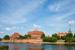 Malbork Castle in Poland Royalty Free Stock Photography