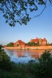 Malbork Castle in Poland Stock Photo