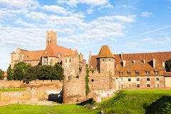 Malbork Castle. In Pomerania, Poland Stock Photos