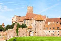 Malbork Castle. In Pomerania, Poland Royalty Free Stock Image