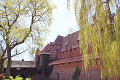 Malbork castle in Pomerania region of Poland. Stock Photo