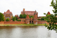 Malbork castle in Pomerania region, Poland Stock Image