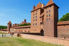 Malbork castle in Pomerania region, Poland Stock Photography