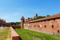 Malbork castle in Pomerania region, Poland Stock Photos