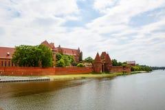 Malbork castle in Pomerania region, Poland Royalty Free Stock Photo