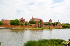 Malbork castle in Pomerania region, Poland Stock Photo