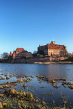 The Malbork castle in Pomerania Royalty Free Stock Images