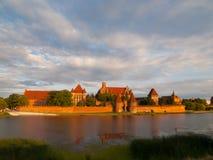 Malbork Castle Royalty Free Stock Image