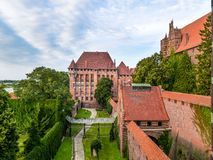 Malbork castle Stock Photo