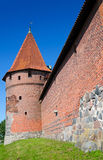 Malbork castle tower Royalty Free Stock Photography