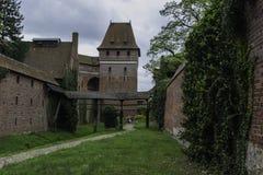 Malbork ein starkes Teutonic Schloss ?ber dem Nogat lizenzfreie stockbilder