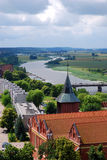 Malbork environs view Royalty Free Stock Images