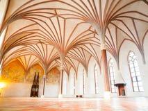 Malbork Grand Refectory Royalty Free Stock Image