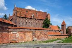 Malbork High Castle Stock Photography