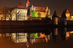 Malbork kasztel Obraz Royalty Free