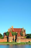 Malbork knights castle in Poland. (world heritage list Unesco Royalty Free Stock Photo