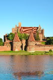 Malbork knights castle in Poland (world hritage list Unesco). Malbork knights castle in Poland Stock Image
