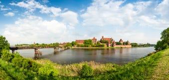 Malbork (Marienburg) Castle in Pomerania, Poland. Royalty Free Stock Image