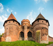 Malbork (Marienburg) Castle in Pomerania, Poland. Stock Photo