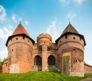 Malbork (Marienburg) Castle in Pomerania, Poland. Stock Photo