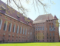 Malbork medieval castle Royalty Free Stock Photography