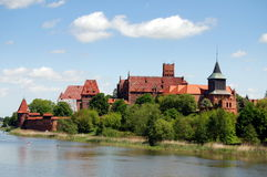 Malbork, Poland: Malbork Castle Stock Photos