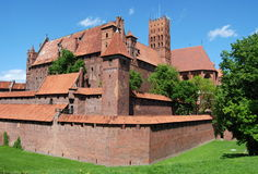 Malbork, Poland: Malbork Castle Stock Photography