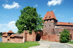 Malbork, Poland: Malbork Castle Royalty Free Stock Photo