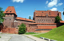 Malbork, Poland: Medieval Malbork Castle Stock Photos