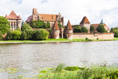 Malbork, Pologne Photos stock