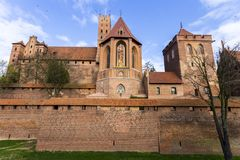 Malbork, Polonia fotografía de archivo