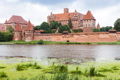 Malbork. In Pomerania in Poland Stock Photo