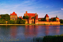 Malbork's Teutonic Order Castle stock photos