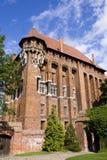 Malbork Schloss Stockbild