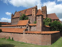 Malbork Schloss Lizenzfreies Stockfoto