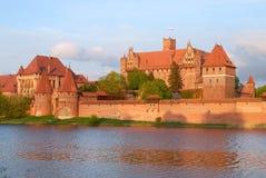 Malbork Schloss, Polen Stockfoto