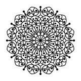 Malbuch-Mandala Stockbild