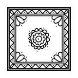 Malbuch, Silk Taschentuch vektor abbildung